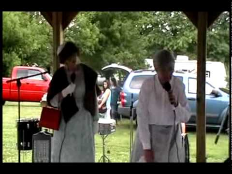 Exline 4th of July Marvina and Isabella Comedy Act - Video 2