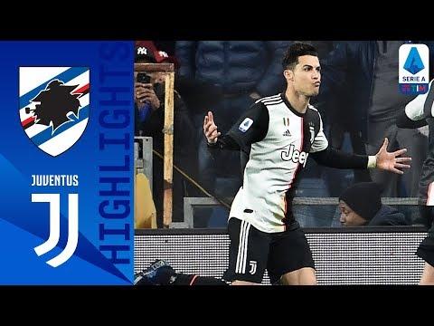 Sampdoria 1-2 Juventus   Ronaldo Header Wins It for the Visitors   Serie A TIM