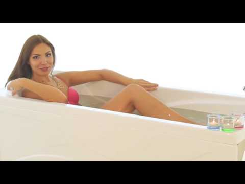 Ванна акриловая с гидромассажем джакузи Triton Кэт 150х70х41