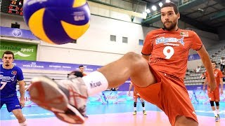 Video TOP 20 Legendary Volleyball Saves Of All Time (HD) MP3, 3GP, MP4, WEBM, AVI, FLV September 2018