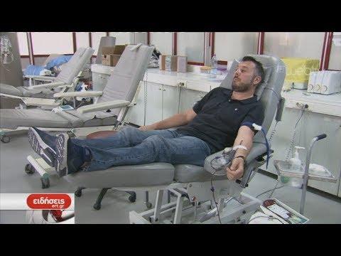 Έκκληση για να καλυφθούν οι ελλείψεις σε αίμα | 15/07/2019 | ΕΡΤ