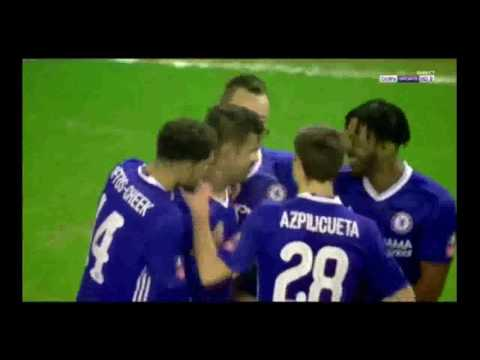 Chelsea vs Wolves • 2-0 All Goals HD • FA Cup • 18/02/2017