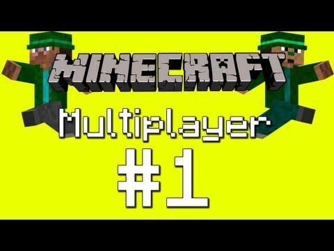 Pelataan Minecraft Multiplayer - Osa 1 - Suuri paljastus!!!