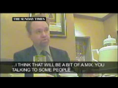 Lord Truscott Filmed Undercover – GOVERNMENT CORRUPTION