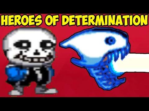 Undertale файтинг - Heroes of Determination | Kor Sans