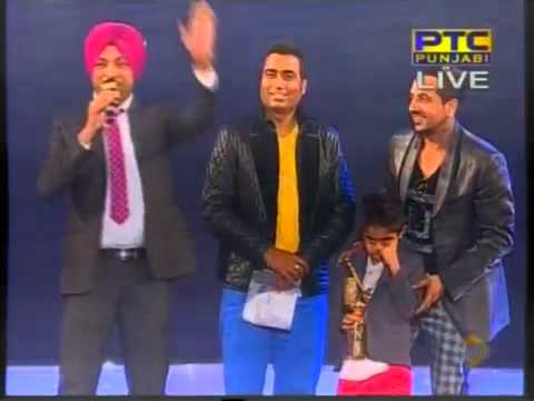 Jazzy B Party Getting Hot Recieved Best Song PTC Channel Music Awards 2013