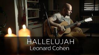HALLELUJAH (Leonard Cohen) - Acoustic Fingerstyle Guitar Cover Video