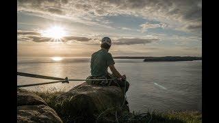 Stunning Fair Head Sunset Climbing -  Vlog 0058 by Matt Groom