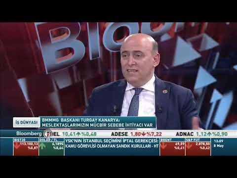 Bağımsız Mali Müşavirler Derneği Başkanı Turgay Kanarya, Bloom berg HT'de yayınlanan İş Dünyası programına konuk oldu.