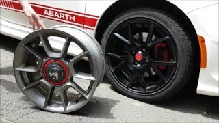 SELLING MY ABARTH STOCK 16 INCH WHEELS!!!!