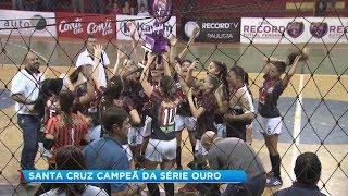 Copa Record: Santa Cruz do Rio Pardo é campeã da série Ouro na região Bauru