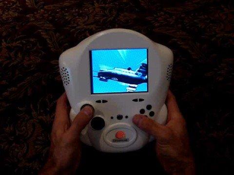 Un dreamcast portable maison
