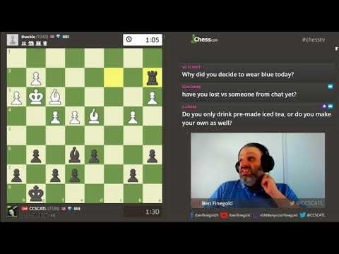 Wednesday Chess With Gm Ben Finegold