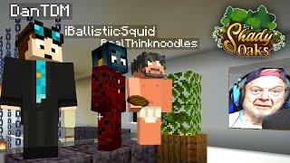 THE GALLERY OF SQUID PRANK! - Shady Oaks SMP (Minecraft)
