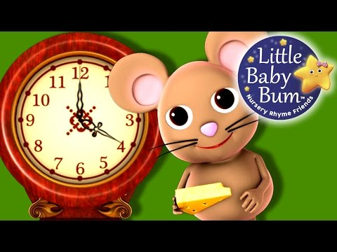 dock - Hickory Dickory Dock nursery rhyme in beautiful 3D animation from LittleBabyBum! Lyrics: Hickory Dickory Dock The mouse ran up the clock The clock struck one...