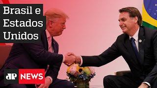 Bolsonaro anuncia acordos bilaterais com os EUA