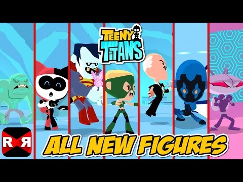 Teeny Titans - All New Figures VS The Hooded Hood - Gameplay Video