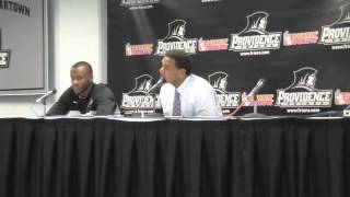 Ed Cooley Press Conference Post-Maine 12.21.13
