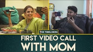 Video First Video Call With Mom | The Timeliners MP3, 3GP, MP4, WEBM, AVI, FLV Oktober 2017