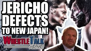 Chris Jericho HEAT With WWE?! DEFECTS To NEW JAPAN! | WrestleTalk News Nov. 2017