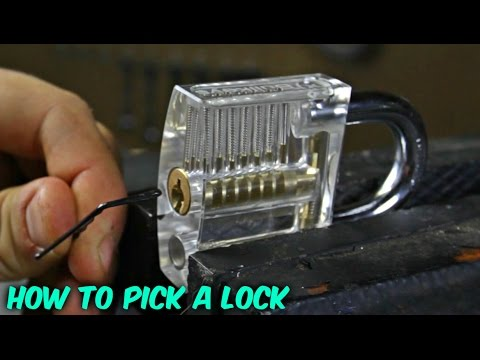 Picking Locks Looks Easy