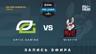 OpTic Gaming vs Misfits - ESL Pro League Finals - de_overpass [GotMint, SleepSomeWhile]