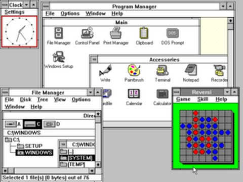Microsoft Windows 3.x Preview