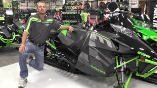 "10. 2017 Arctic Cat M8000 153"" Limited Edition"