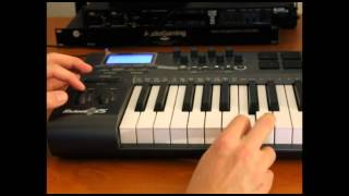 AudioGaming Footstep with MIDI keyboard