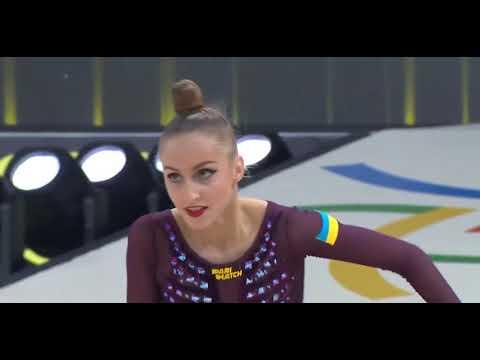 Девочка на шаре. Гимнастка из Украины завоевала золото