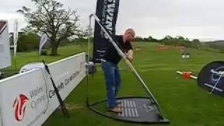 Stephen Nicholson of GolfinMag on Plane SWING at Golf Live Celtic Manor