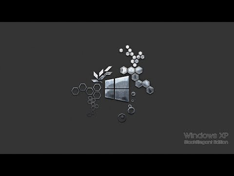 [Windows XP Mod] - Black Elegant Edition 2017
