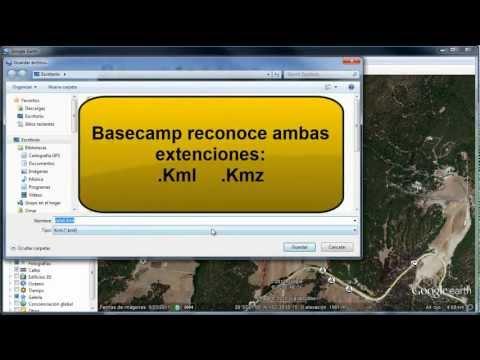 Rutas en google earth y cómo pasarlas a GPS Garmin con Basecamp