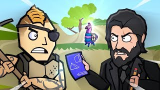Original Fortnite Animation | FINALE ROYALE | The Squad Ep. 5