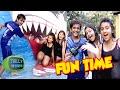 (Video) Roshni Walia, Saloni & Bhavesh Have Fun At Water Kingdom