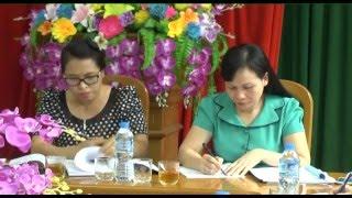 Hội nghị bàn kế hoạch tổ chức Đại hội đại biểu Hội LHPN thành phố