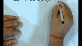 Mod-01 Lec-31 Hahn Banach Theorem For Real Vector Spaces
