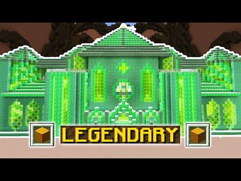 ONLY EMERALD CHALLENGE (Minecraft Build Battle)