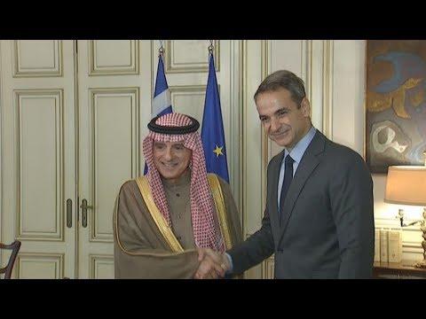 Συνάντηση Π/Θ με Υπουργό Επικρατείας για Εξωτερικές Υποθέσεις της Σαουδικής Αραβίας