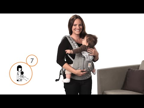 RETAILER How To Front Carry in the Ergobaby Carrier