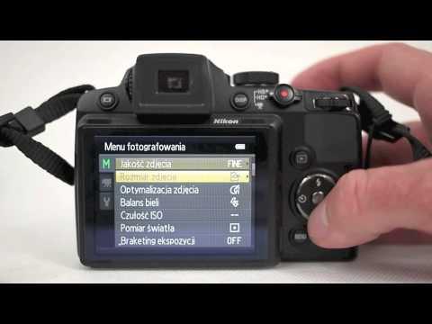 Nikon Coolpix P500 test - menu