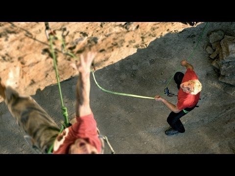 How to Belay the Leader with a GRIGRI