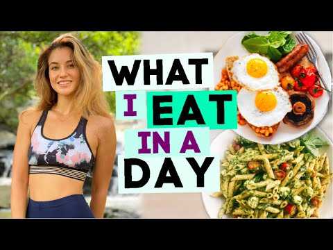 What I Eat in a Day *ft. my new goals*