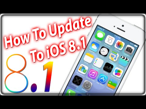comment installer ios 8.1