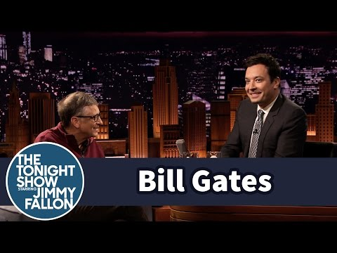 Gates - Bill Gates challenges Jimmy to taste test water from the Omniprocessor, which turns sewage into clean drinking water. (http://www.gatesletter.com) Subscribe NOW to The Tonight Show Starring...