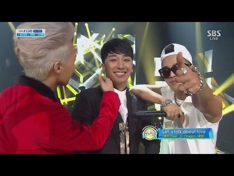 SEUNGRI_0915_SBS Inkigayo_LETS TALK ABOUT LOVE+할말있어요