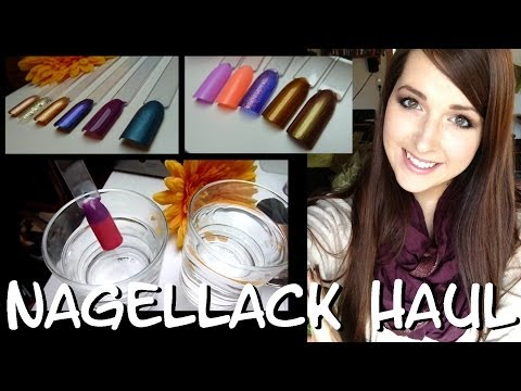 [Nagellack Haul 1#] Essence Thermo Lack im Test, Swatches uvm. ☺
