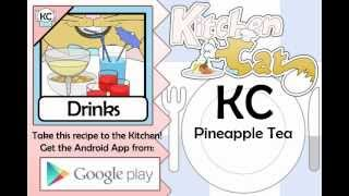 KC Pineapple Tea YouTube video