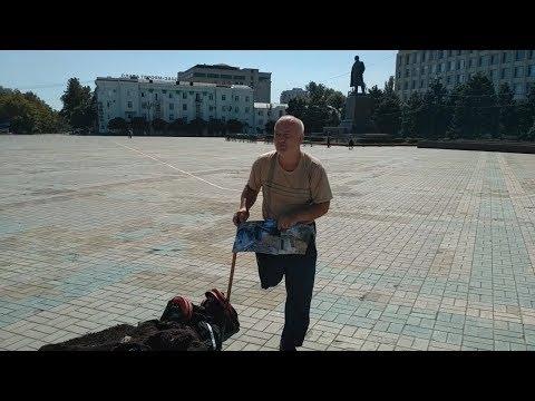 Одиночный пикет за право на жилье в Дагестане