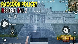 RPD Location! Where to Find it? PUBG Mobile x Resident Evil 2 I Update 0.11 Zombie Mode